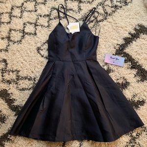 Harper and lemon navy dress